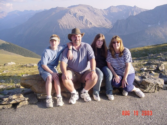 at the top of Trail Ridge Road