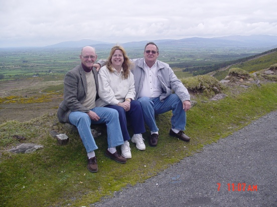 Packie, me and my Dad