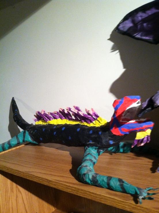 Billy's iguana monster