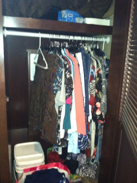 plenty of room for clothes!