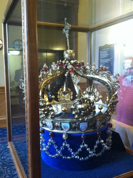 Notre Dame's Rosary Crown