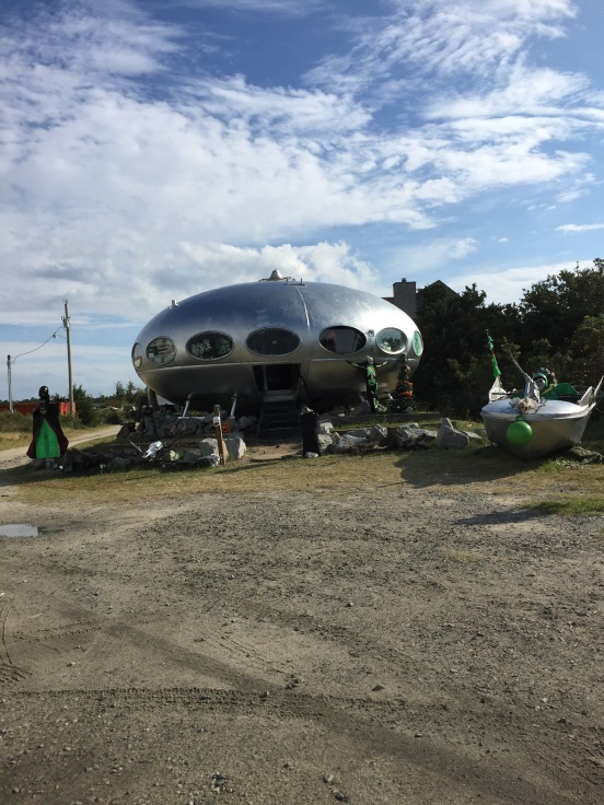 UFO landed in Hatteras, NC