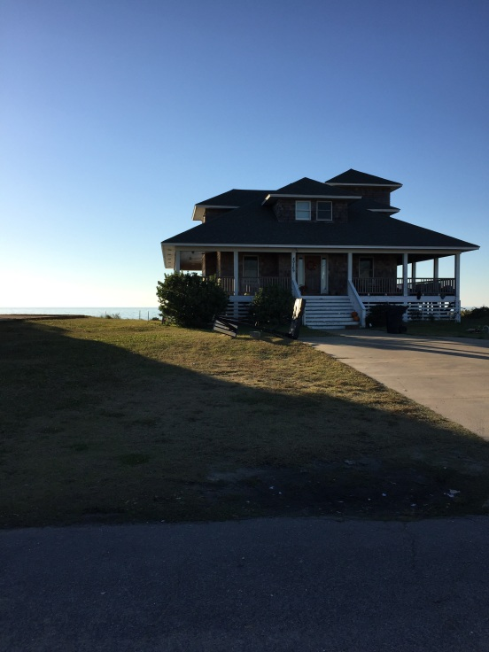 cedar sided cape code style house with full wrap around porch - unobstructed views of the bay