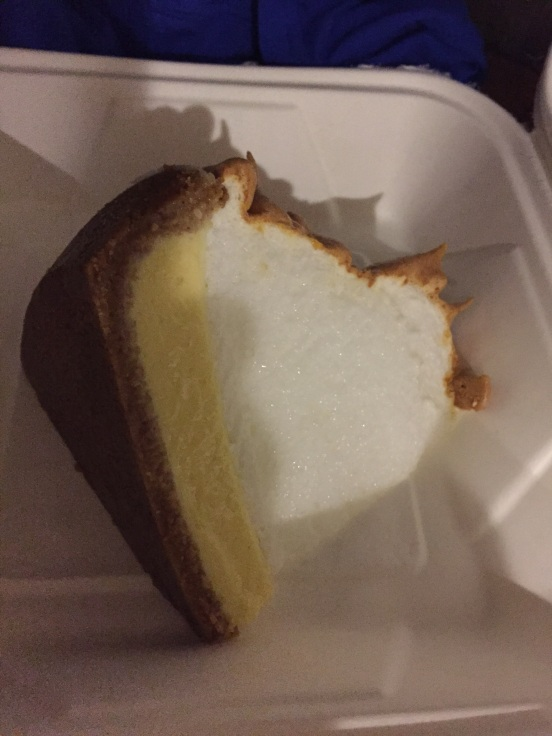 our last piece of Key Lime Pie  :(