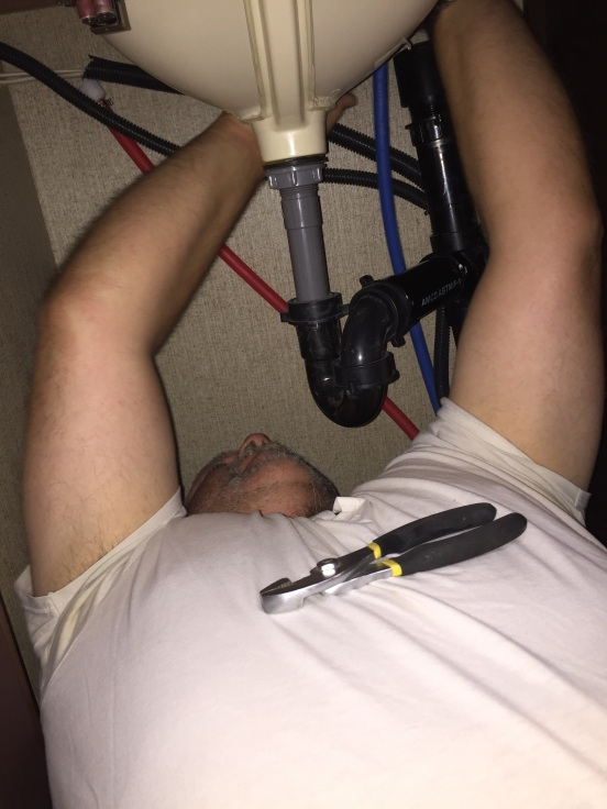 tight spaces in the rig