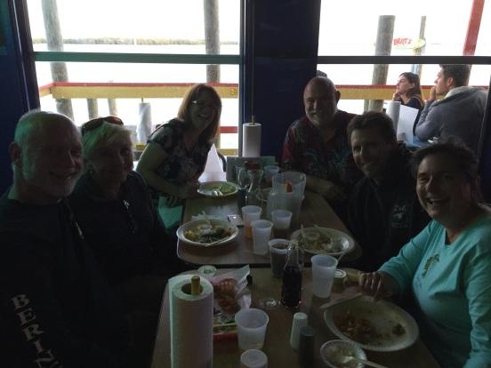 dinner at Berts!