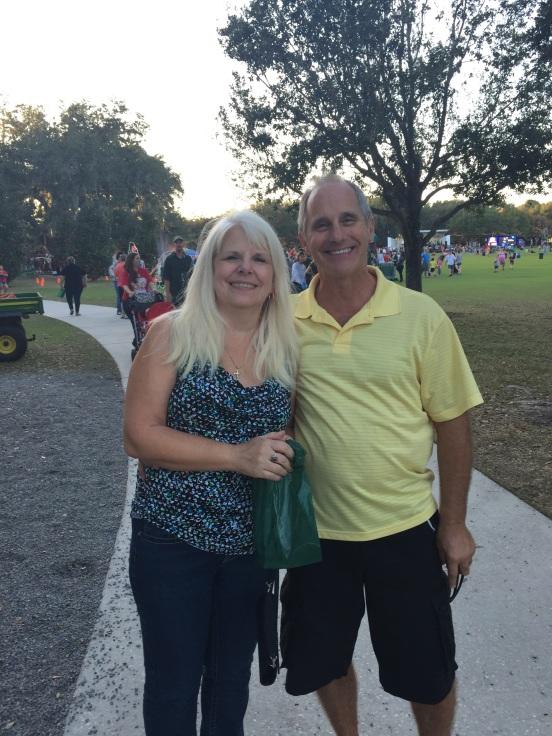 Debbie and Steve