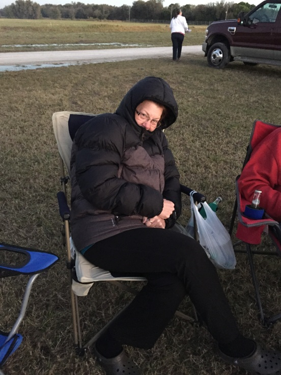 Momma TX Jo was cold!