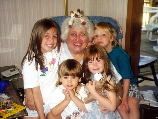 this is one of my fav's of you and your cousins with Nana