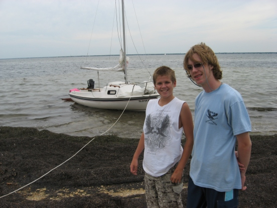 Bill Billy Andrew sailing (15)