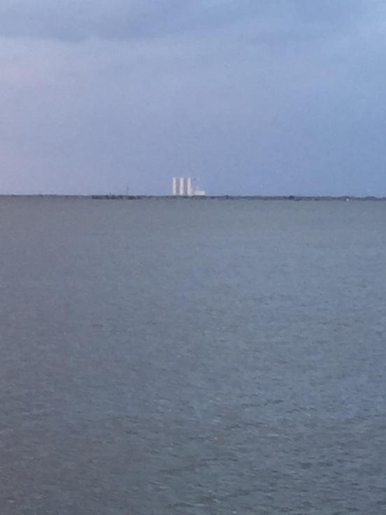 right across from NASA
