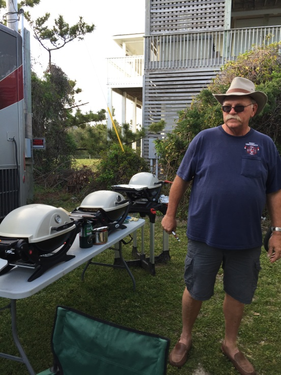 yes - we have 3 grills going at once!