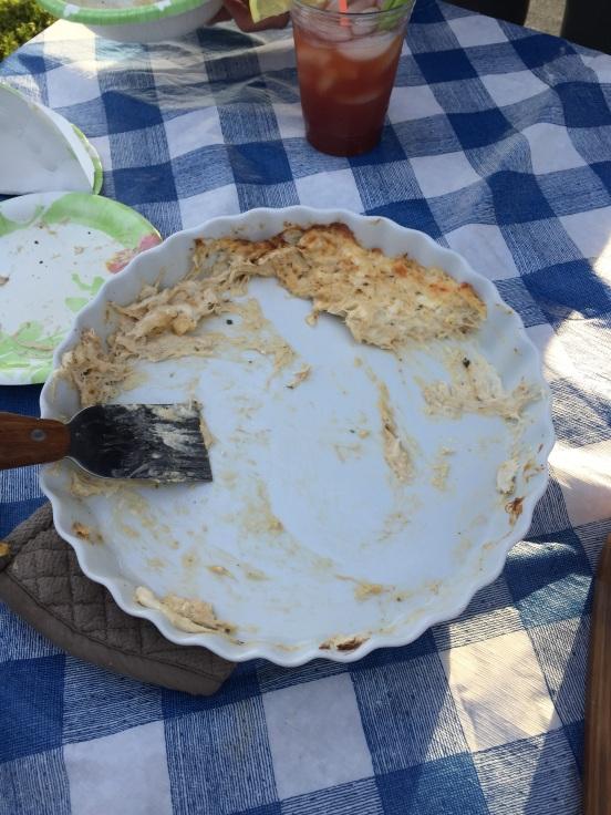 hot crab dip ala Cori