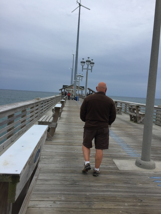 afterwards, Bill and I got some alone time walking on Jeanettes Pier