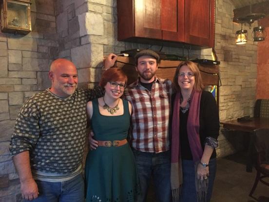 Bill, Michelle, Derek and me