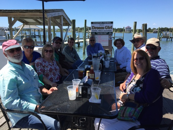 our first stop was for lunch at sMacNally's - right on the water