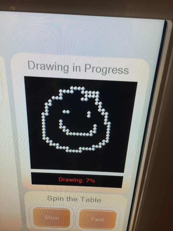 you drew this on a touch screen with your hand...