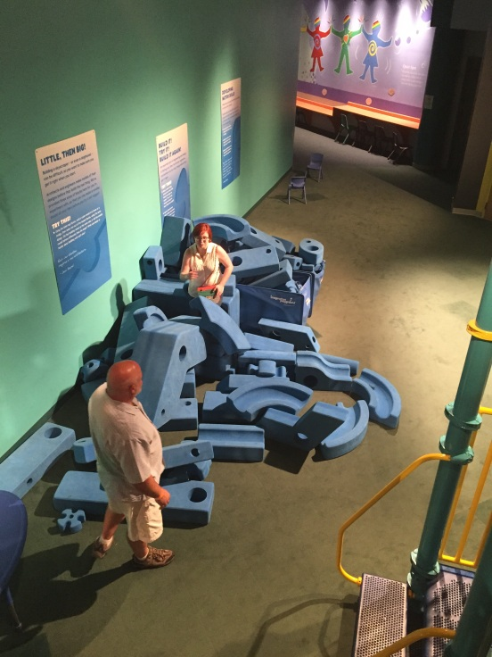 giant foam tinker toys