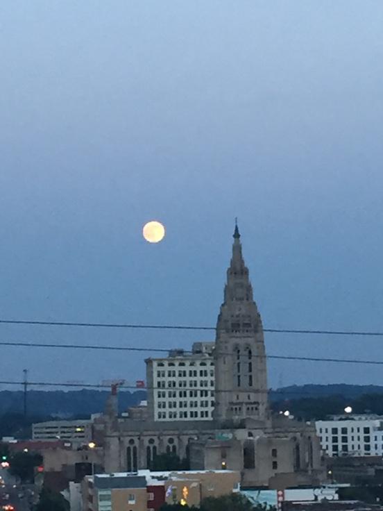 full moon, from Dereks balcony