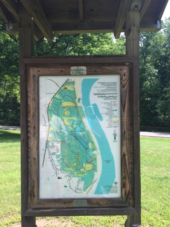 map pf the park