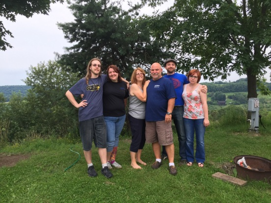 great pic of all of us, thanks to our neighbor!