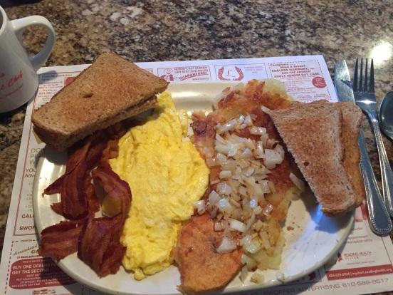 my fav breakfast at Effies.