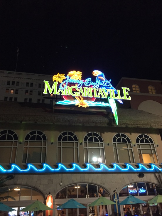 a boardwalk isn't complete without a Margaritaville!