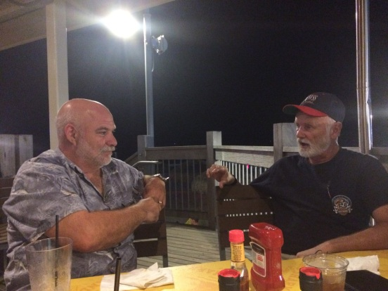 Gene and Bill - discussing something important - no idea what
