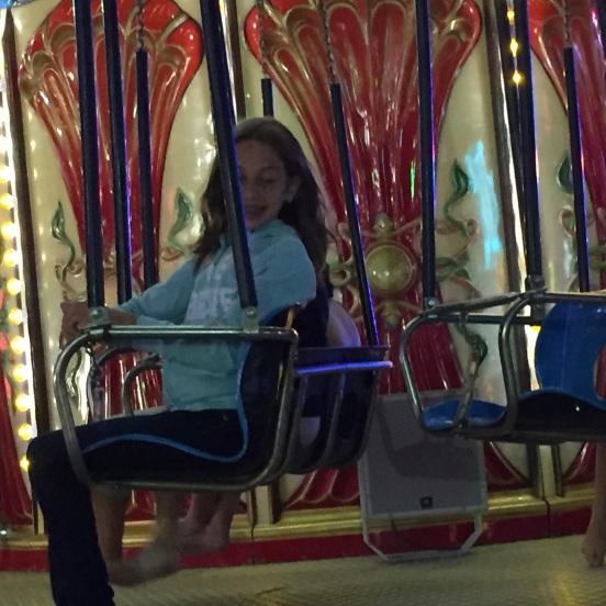its still one of Olivia's fav rides