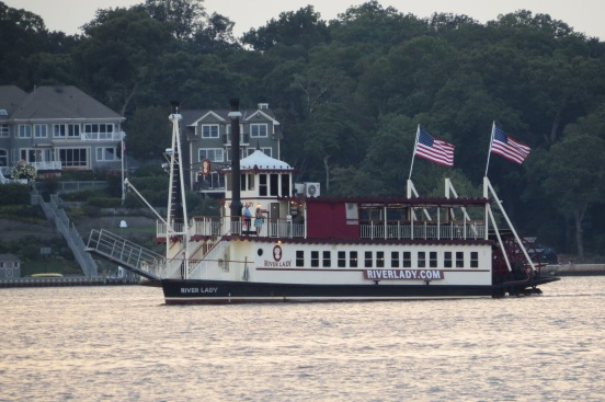 Riverboat tours of the river and Barnegat Bay
