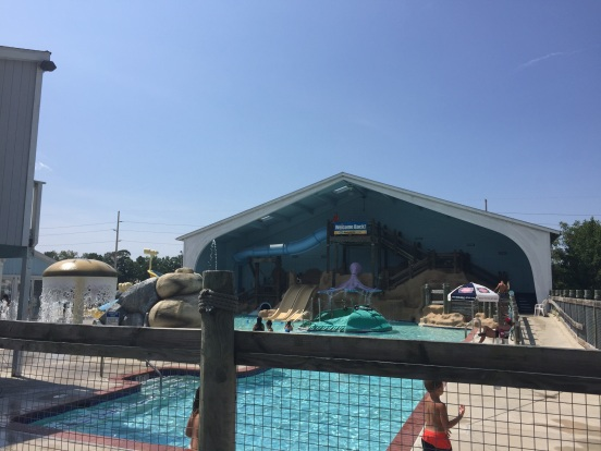 water park area - my kids would have loved this place in their childhood days!