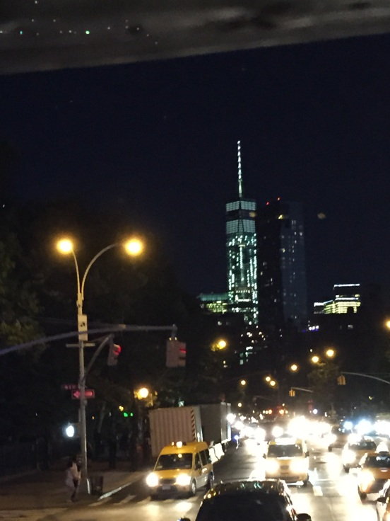 Freedom Tower at night - amazing
