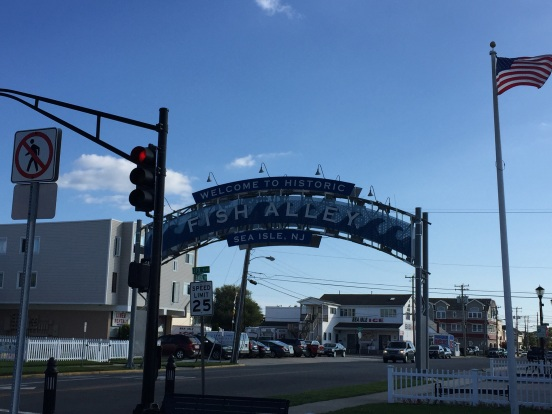 Afterwards, we headed to Sea Isle City for an early dinner at Mikes Seafood
