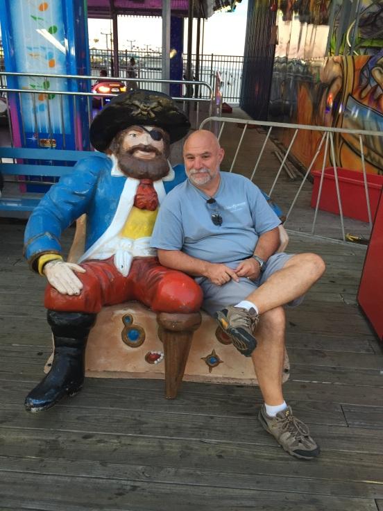 Bill and the peg-leg pirate