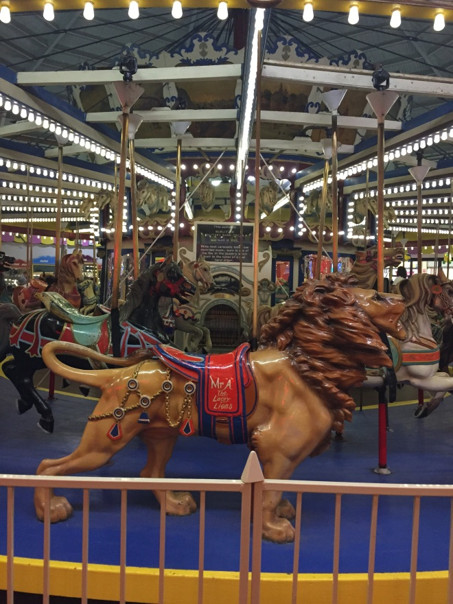 this is an OLD carousel