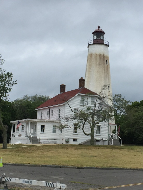 This became our Plan B - a visit to my FAV lighthouse, Sandy Hook! It is the oldest continuous use lighthouse in the USA!