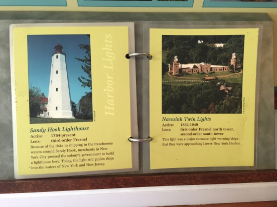 these are my two fav's, Sandy Hook and also Twin Lights
