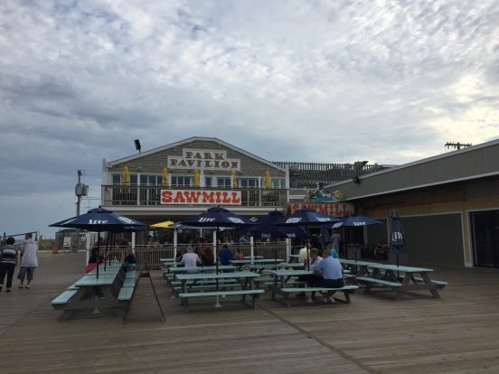 the SawMill is a Seaside Heights tradition, we used to get hot dogs there years ago.