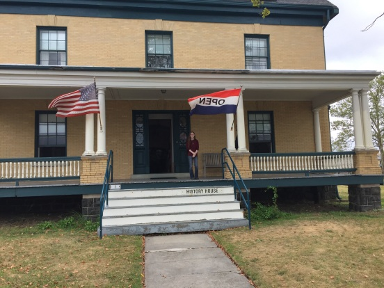 Jaime standing on the front porch
