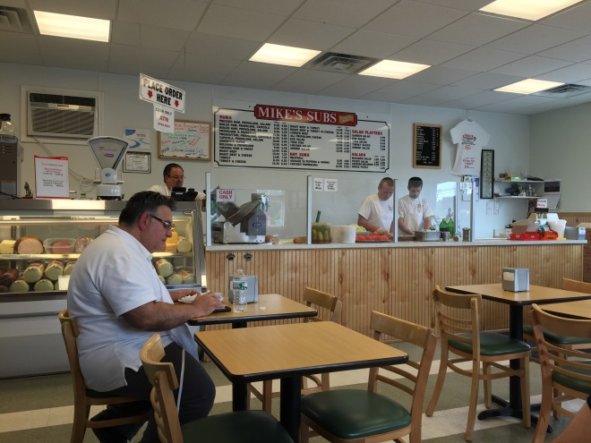 this place has looked exactly the same as it has for forever - even after Hurricane Sandy devastated it and they had to rebuild from scratch - same owners since it opened! They still make their subs the exact same way as they always have - delish!