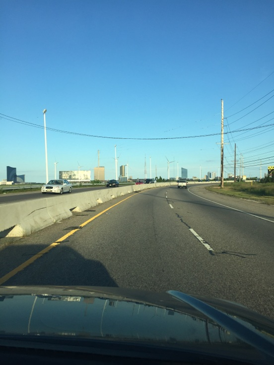 almost there - Atlantic City!