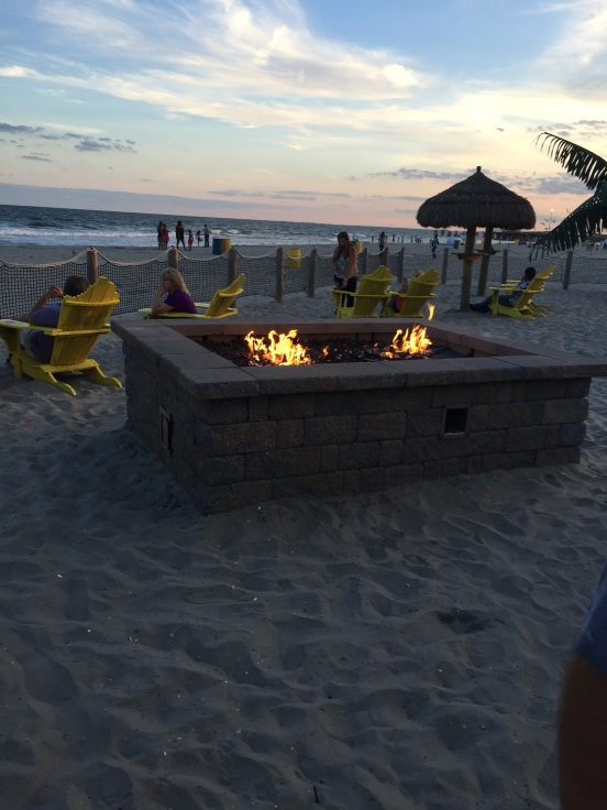 they had this awesome fire pit