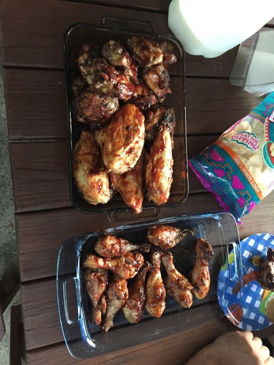 you KNOW this is one of my all time fav's - BBQ chicken!
