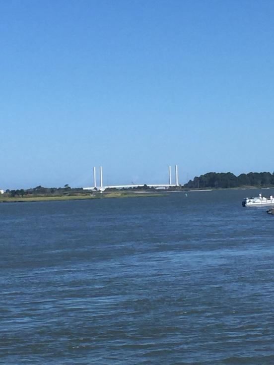 Indian River Inlet Bridge - taken from Masseys Landing