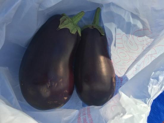 HUGE eggplant 2 for $1!