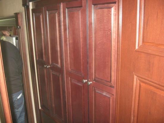 hallway closets - AWESOME storage!