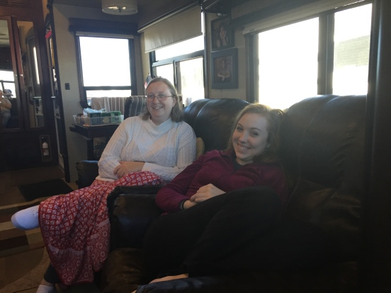Christine and Rebekah