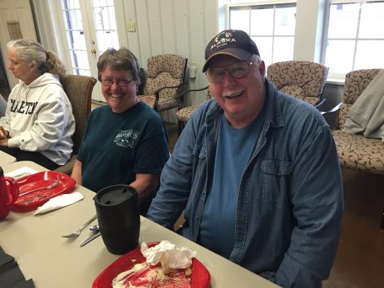 Karen and Bob - fellow pickers