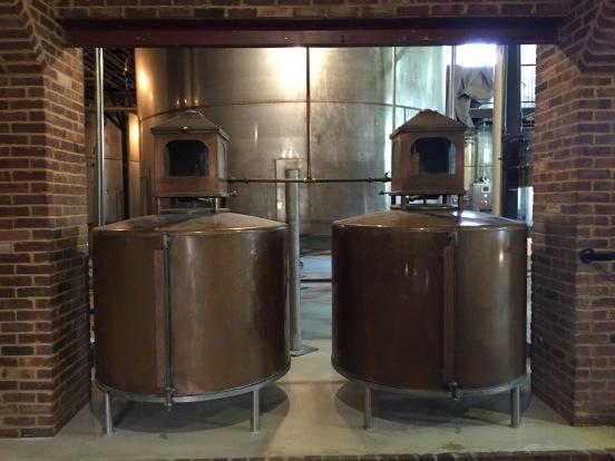 spirit safes, receiving tanks from the pot still