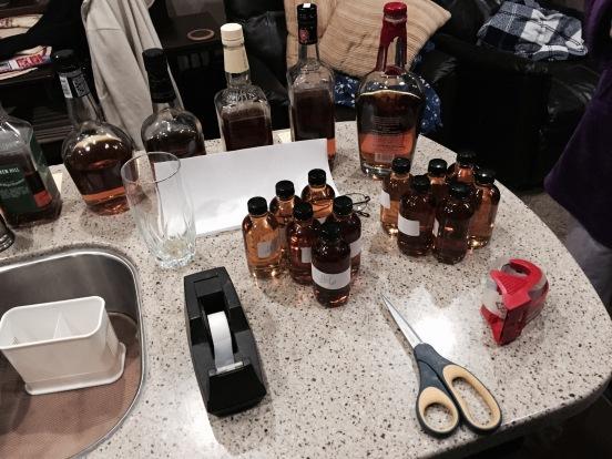 labeling the bottles